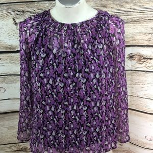 NWT Croft & Barrow size XS top built in cami